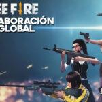 colaboración global en free fire